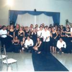 Alunos Formandos da 1ª Turma em 23/01/2004